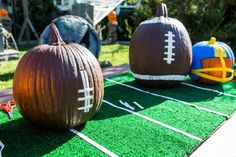 DIY Football Pumpkin Centerpiece with Mark Steines and Cristina Ferrare | Home & Family | Hallmark Channel