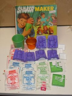 Vintage Ideal Shaker Maker People No 1 1971 -- my sister had this it was amazing !