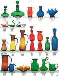 Bischoff Glass catalog reprints-blown, crackle glass • $14.00 - PicClick