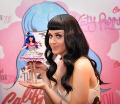 Katy Perry Barbie. I really hope they mass produce this doll, I'd buy her in a heartbeat!!