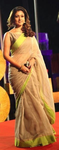 so simple yet classy cotton saree