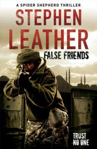 False Friends by Stephen Leather is a fic­tional book in the Dan Shep­herd series. This is the 9th book in the series, but can be read as a stand­alone book