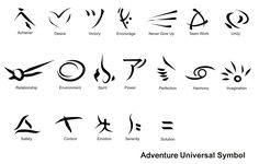 Adventure Universal Symbol by Imux on DeviantArt