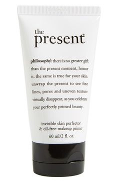 philosophy 'the present' skin perfector & oil-free makeup primer available at #Nordstrom