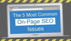 https://social-media-strategy-template.blogspot.com/ What are the most common on-page SEO factors - and how can you fix them? This infographic outlines the most common issues, based on data collected by Raven Tools.