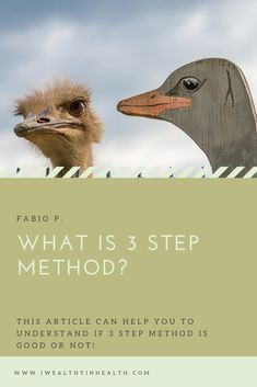What is 3 Step Method? Easy Jobs, Lots Of Money, Ways To Earn Money, How To Get Rich, Online Work, Virtual World, Health, Health Care, Salud