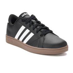 best service e4617 17dc1 Adidas NEO Baseline Kids Shoes, Size 7, Black