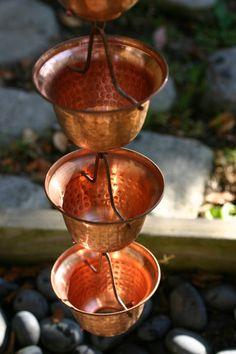 Rain Chains Copper Bells| The Rain Gutter Specialists