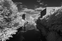 mark alan andre uses infrared to radically alter familiar DC sights Infrared Photography, Photography Series, Alters, Tower Bridge, Washington Dc, Travel, Outdoor, Photographers, Aesthetics