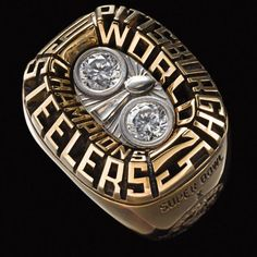 Super Bowl X Championship Ring - Pittsburgh Steelers