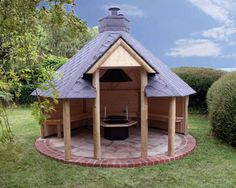 Outdoor open Shelter with Barbeque