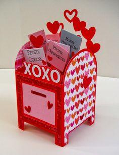 SVG Cuts Mailbox card in a box - Explore Kinder Valentines, Valentine Day Boxes, Valentine Crafts, Printable Valentine, Homemade Valentines, Valentine Wreath, Valentine Ideas, Diy Valentine's Box, Diy Gift Box