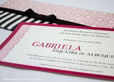 Convite 15 anos carteira - Galeria de Convites