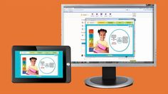 This innovative and collaborative learning curricula was created using an HTML5 browser-based framework. K-12 educators can learn on any device as video guides help them step through the interactive content.