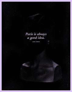 In The Dark: HEPBURN by eric zelinski, via Flickr