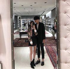Korean, ulzzang, asian couple, aesthetic