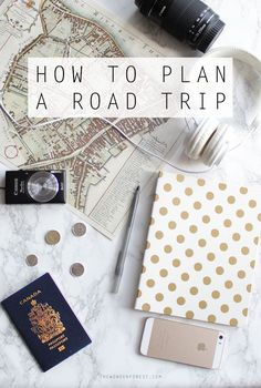 How To Plan an Epic Road Trip | Wonder Forest: Design Your Life. http://finelinedrivingacademy.co.uk
