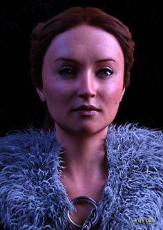 Sansa Stark morph for Genesis 8 Female - Daz Studio