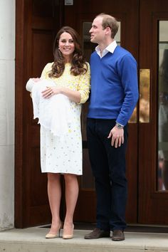 The new royal baby is here! See all the first photos.