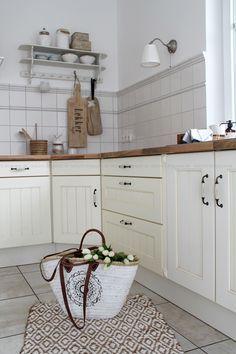 Deko Donnerstag Vorher/Nachher Renovierung Küche