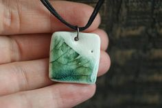 Check out this item in my Etsy shop https://www.etsy.com/listing/542213968/ceramic-chokers-green-minimal-jewelry