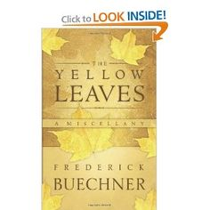 Another piece from one of America's greatest living writers -- secular or religious... these are a collection of his writings about his life and family...
