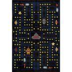 Caprice Collection Arcade 8 ft. x 10 ft. Indoor Area Rug, Arcade Black