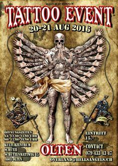 Tattoo Convention Olten  20 à 21 Août 2016