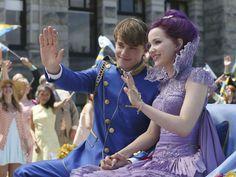 Mal's purple coronation dress