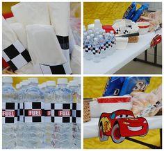 Cars' birthday party