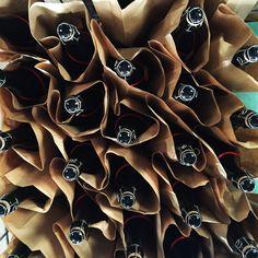Apple cider bottles from Coat-Albret in Brittany, France.