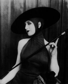 "Norma Shearer, 1920s.  Being the quite the ""Vamp"""