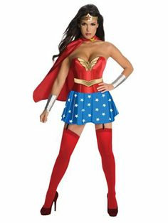 Superhero Wonder Woman Costume - Sexy TV & Movie Halloween Costumes