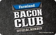Bacon Club Membership Card