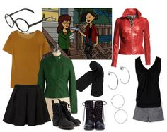 """Daria and Jane (""""Daria"""")   22 Of Your Childhood Style Icons, Revisited"""