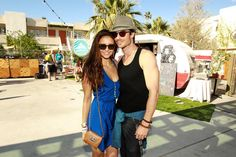 I'm jealous of her for two reasons...One she is at Coachella and Two she is dating Ian Somerhalder!! He is so hot!!