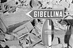 """Gibellina, """"i Ruderi"""" resti del terremoto del 1967 (oggi ancora in loco)"""