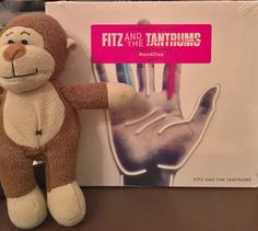 Look what I got from @amazon. The new @FitzAndTantrums CD. Super good! See my #handclap! #fitzandthetantrums #music