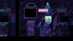 Nightly Training Gif by Gerardo Quiroz Pixel Art, Arcade, Arte 8 Bits, Pixel Animation, Animated Gifs, 8bit Art, Cyberpunk City, City Aesthetic, Aesthetic Photo