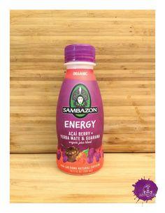 Sambazon Organic Energy juice with Yerba Mate + Guarana & Açaí Berry