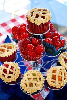 Cherry Pie Cupcakes. Yes, please! :)