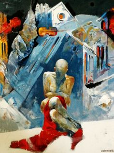 Artwork by Artur Muharremi | See more: parisartweb.com | #Art #Painting #France #ParisArtWeb