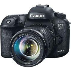 Câmera Canon Dslr Eos 7d Mark Ii Com