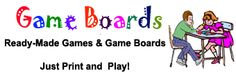 What?! You can create your own game boards on Word?!! This website has tons of pre-made game boards that you can download onto Word to create your own! In addition, they have tons already created! Let the games begin :)