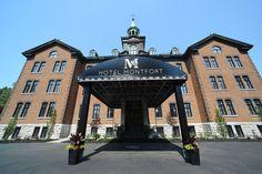 Voici l'Hôtel Montfort à Nicolet dans toute sa splendeur!   #hôtel #nicolet   https://www.hotelmontfort.ca/