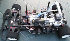 Kyosho Spada 09 with 4 stroke engine!