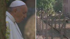 VIDEO: Papa Francisco reza en silencio en campo de concentración de Auschwitz 29/07/2016 - 03:05 am .- El Papa Francisco llegó este viernes al campo de concentración de Auschwitz para realizar un recorrido en silencio, de oración frente en el lugar donde más de un millón cien mil personas perdieron la vida a manos de los nazis.
