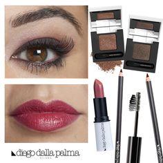 Brown shades - makeup by #diegodallapalma