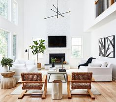 Designers Love This Signature Interior Style—This Living Room Proves It L. Designers Love This Signature Interior Style—This Living Room Proves ItL. Designers Love This Signature Interior Style—This Living Room Proves It Living Room Modern, Living Room Interior, Home Living Room, Living Room Designs, Living Room Furniture, Living Room Decor, Living Spaces, Wooden Furniture, Small Living