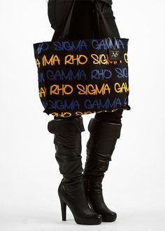 Sigma Gamma Rho tote